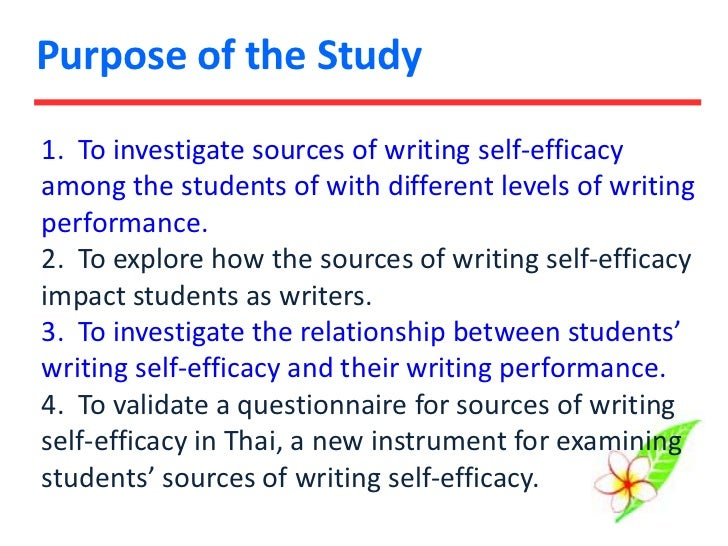 self efficacy 2 essay Self efficacy is commonly defined as the belief in one's capabilities to achieve a  goal or  this essay examines the topic of self-efficacy in the context of teachers' .
