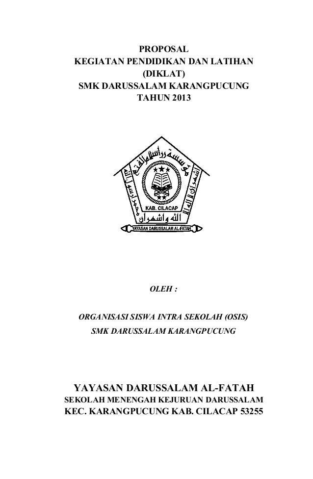 Contoh Proposal diklat SMK 2011