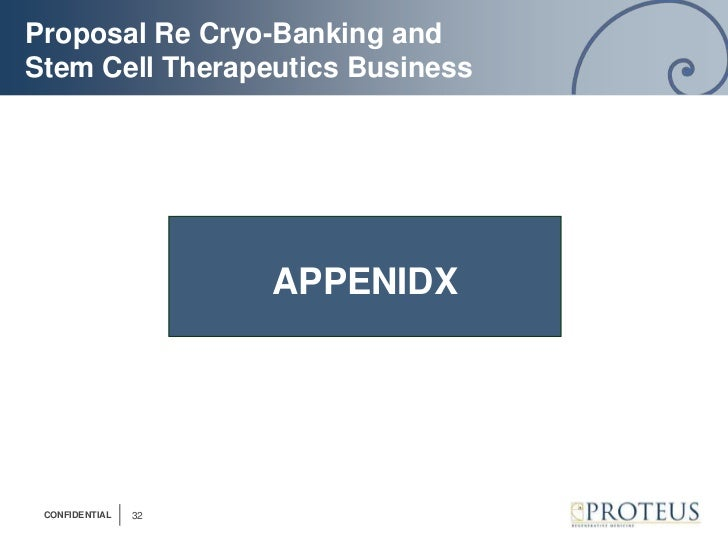 Cord Blood Banking Cost >> Proposal for cord blood banking and therapeutics business (roll up st…