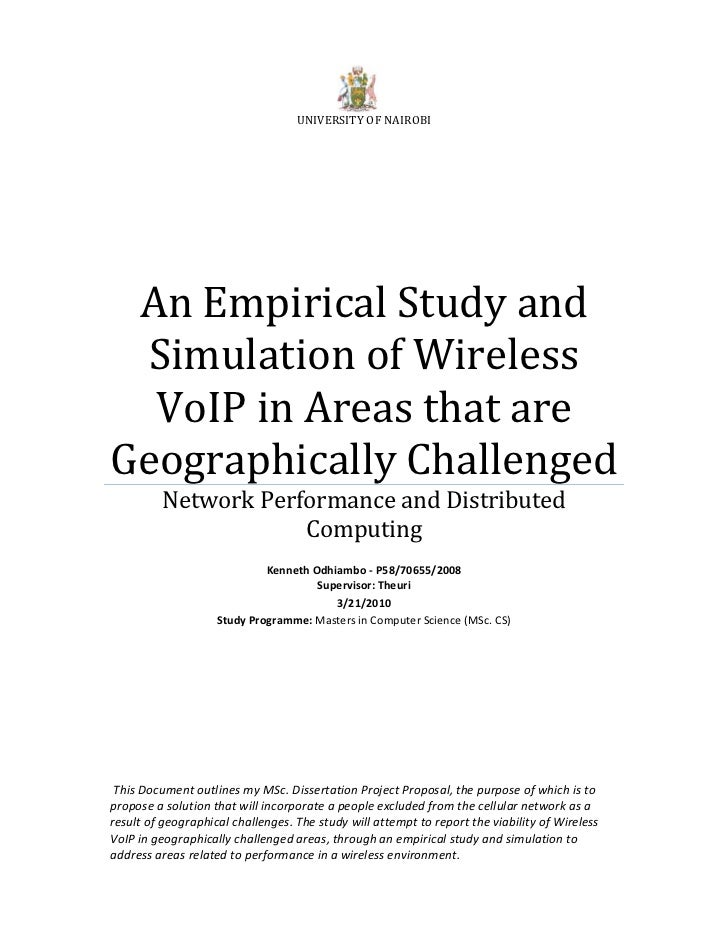 Thesis proposal for cs students