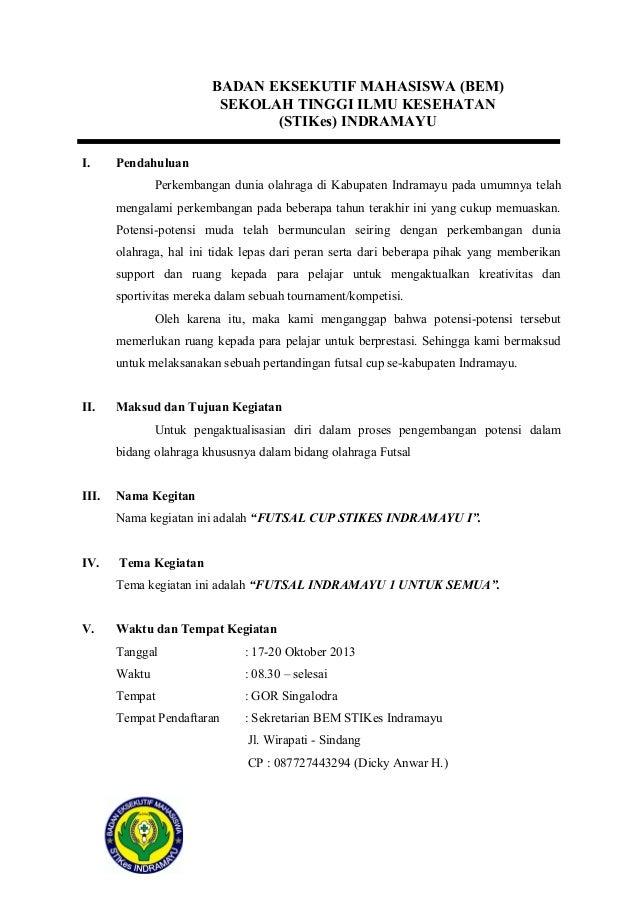 Proposal futsal cup Slide 3