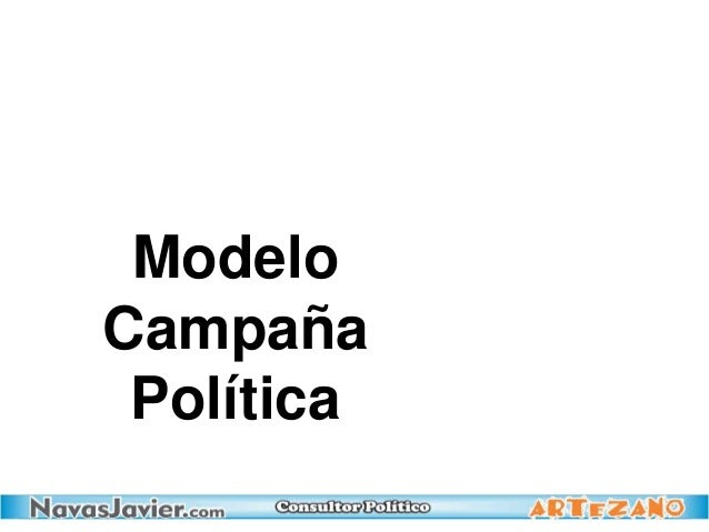 Modelo Campaña Política