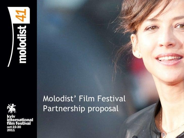 Molodist' Film Festival Partnership proposal