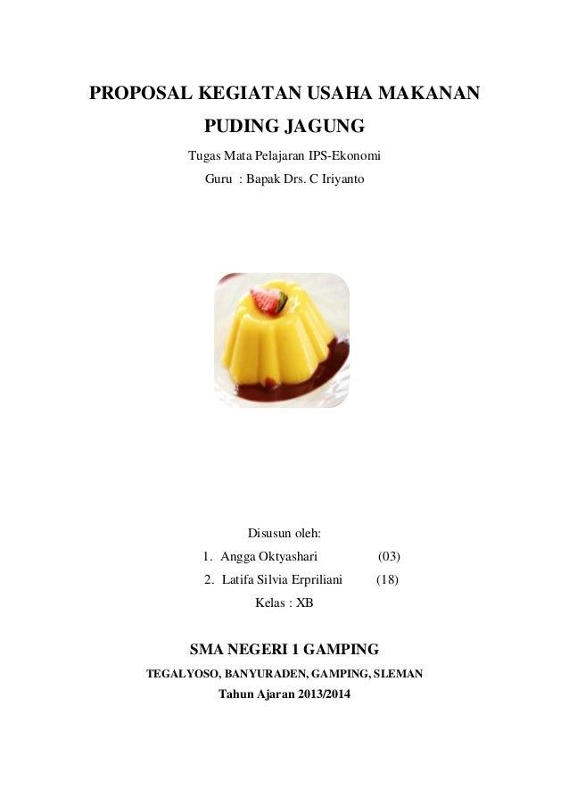 Proposal Usaha Makanan Ppt - Contoh Bisnis Plan Makanan ...