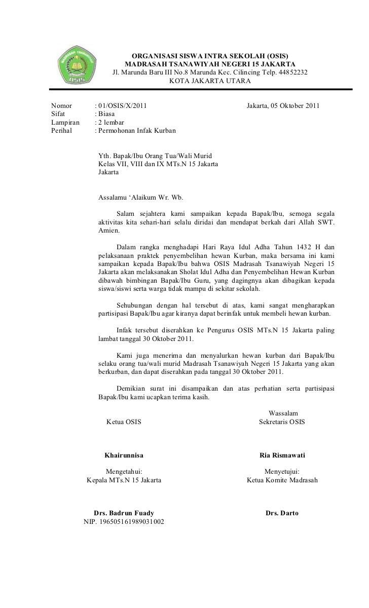 Proposal Kegiatan Idul Adha 2011