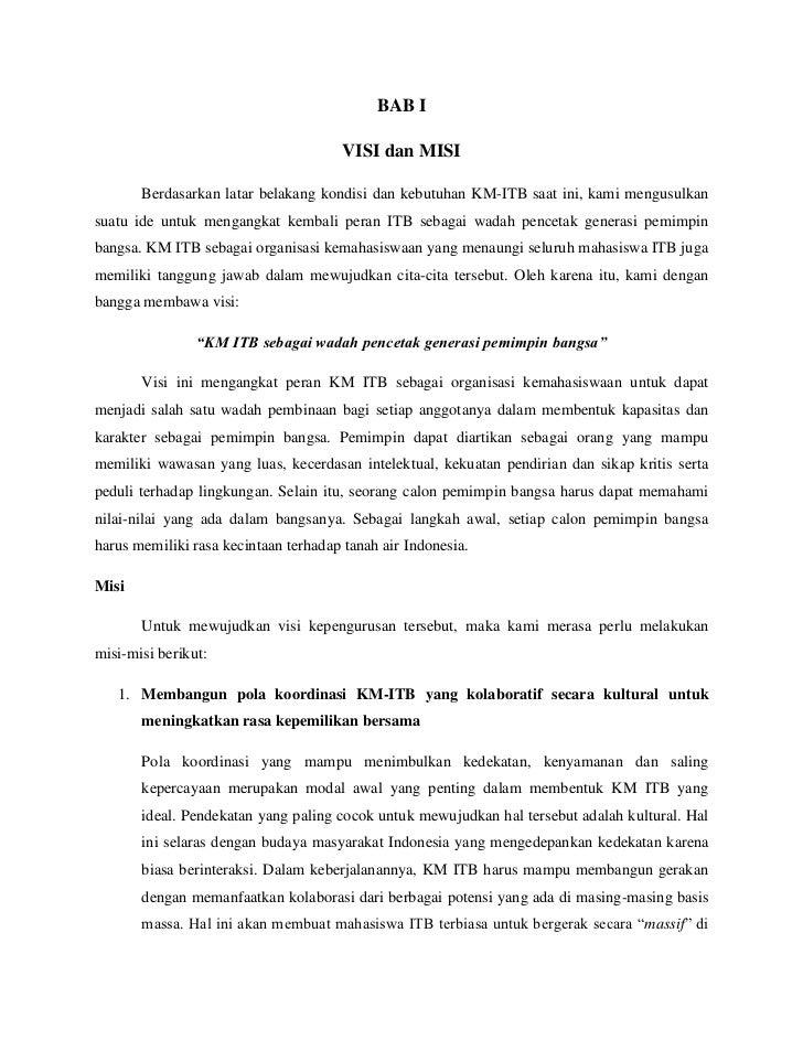 Proposal Pencalonan Filman Ferdian Sebagai Presiden Km Itb