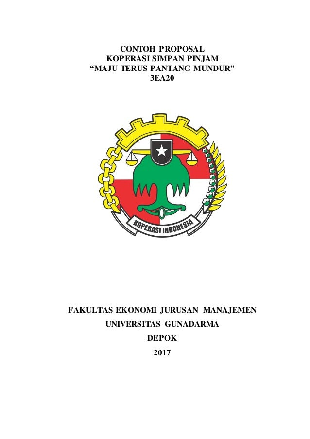 Proposal Koperasi Simpan Pinjam 3ea20