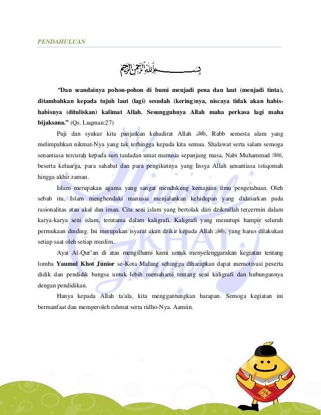 Contoh Proposal Lomba Mewarnai Contoh