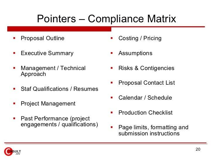 Charming Proposal Management Process