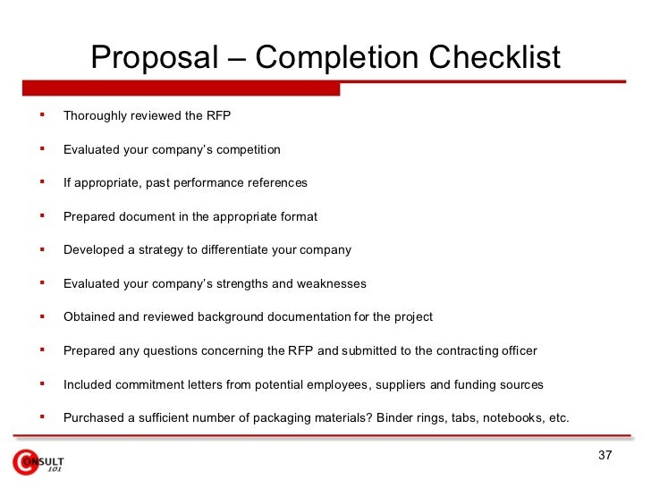 charmant Proposal u2013 Completion ...