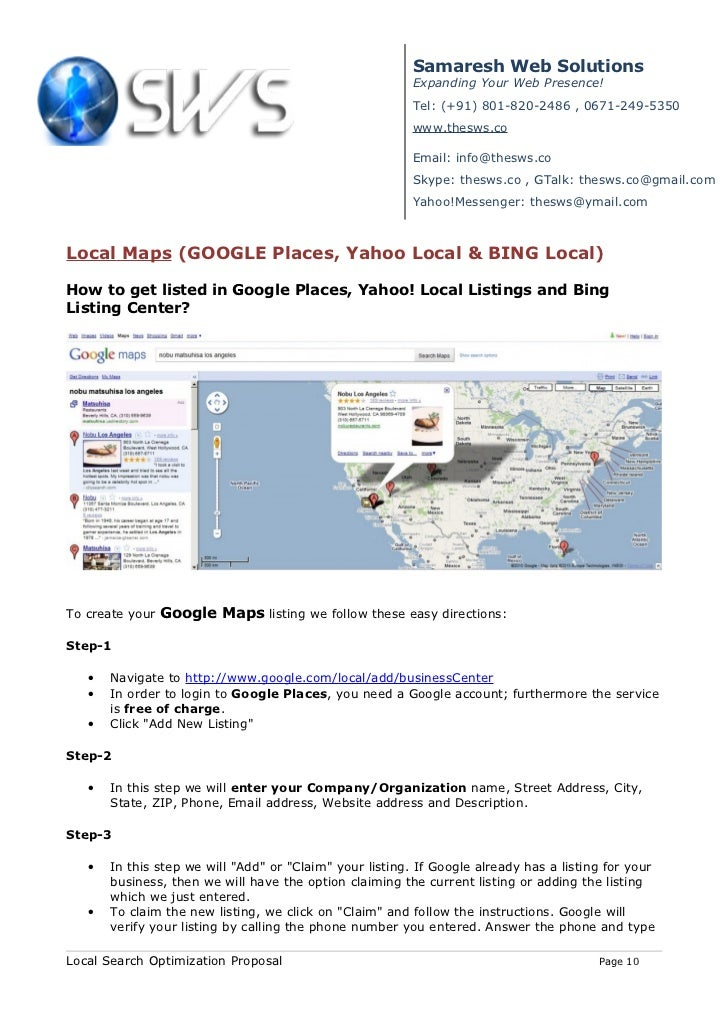 Proposal On Ppc,Google Map & Organic Ranking on zillow maps, gulliver's travels maps, microsoft maps, bloomberg maps, brazil maps, msn maps, windows maps, live maps, usa today maps, rim maps, cia world factbook maps, nokia maps, goodle maps, expedia maps, google maps, trade show maps, mapquest maps, bing maps, apple maps,