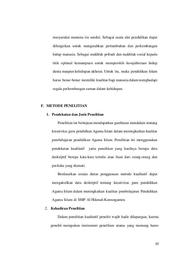 Contoh Forslag Skripsi Pai Tarbiyah Pdf Seer Linoadirect S Diary