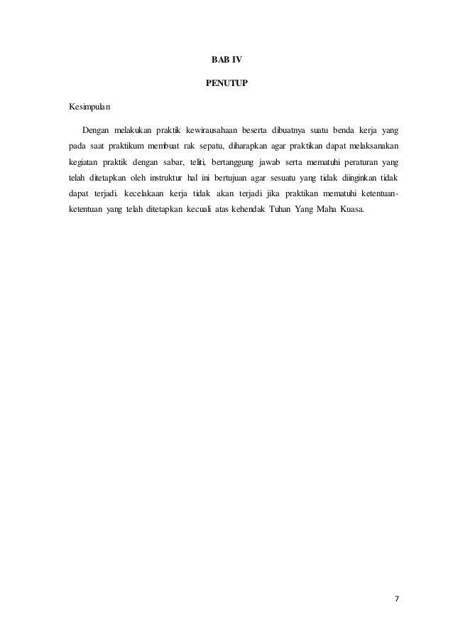 Proposal Pembuatan Produk Kerajinan Dari Bahan Keras