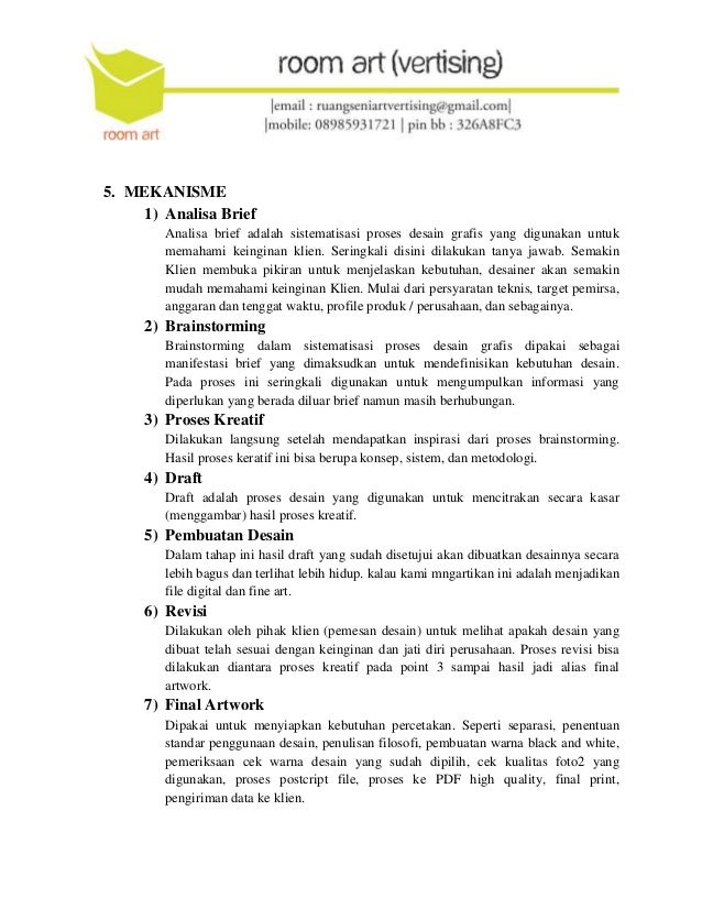 Proposal Penawaran Jasa Advertising