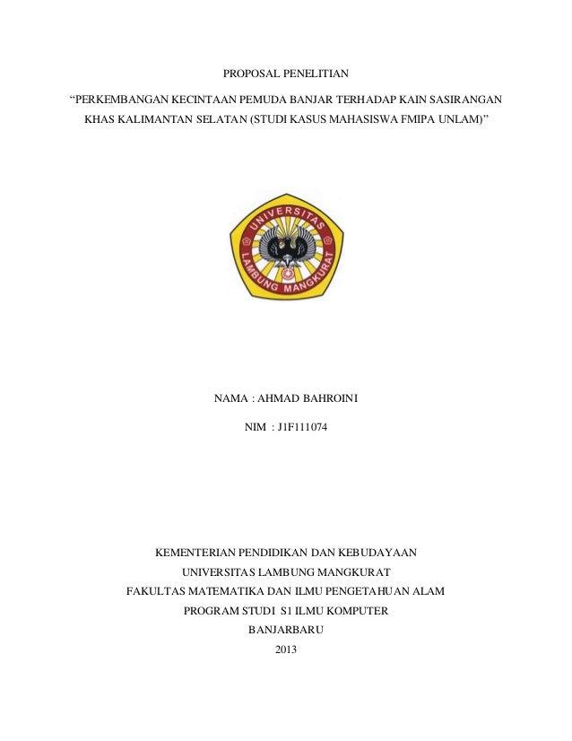 Proposal Penelitian Alam Ilmusosial Id