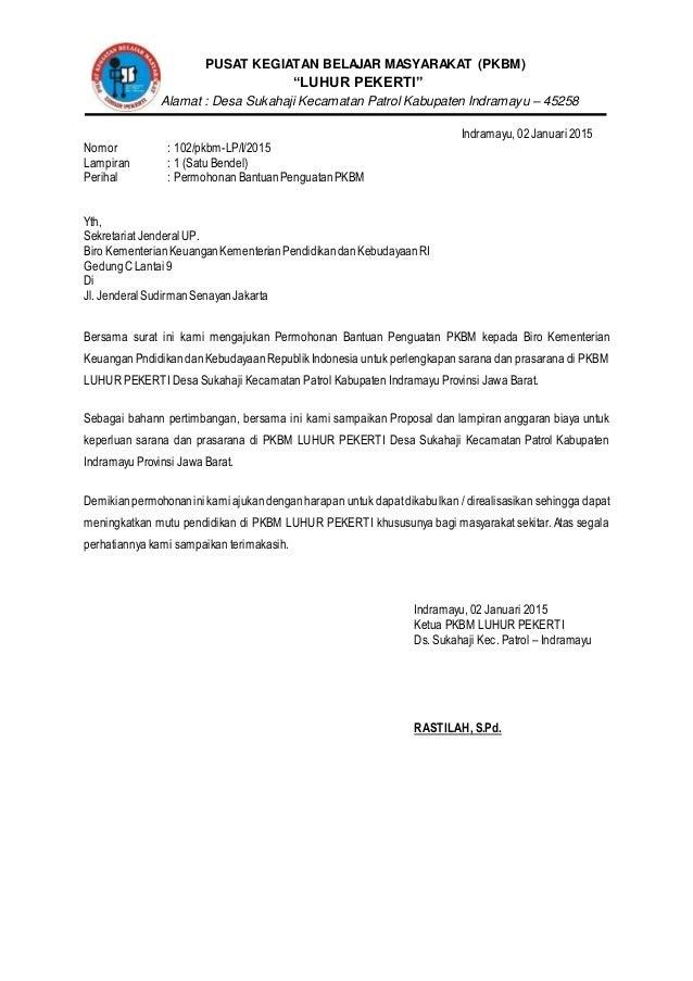 Proposal Peningkatan Mutu Pkbm