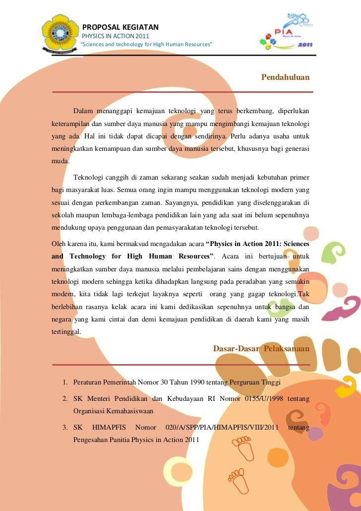 Proposal Pia Untuk Sponsor