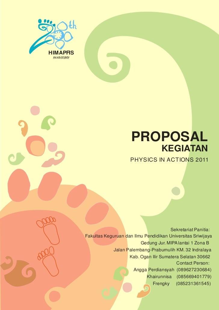 Download Contoh Proposal Sponsor
