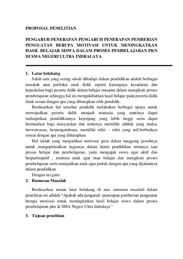 Proposal Pkn Sela