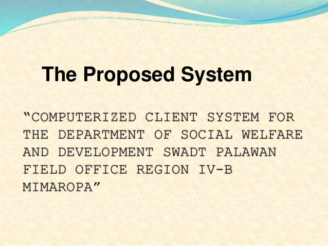 system analysis and design system proposal Requirements analysis and concept of operations reports   during your system design and integration course  course, you will complete a draft of your systems engineering (se) project proposal by the completion of.