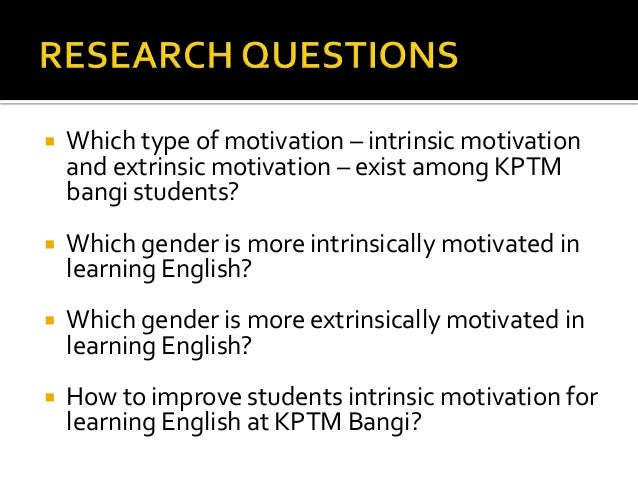 motivation to learn english among college Jordanian undergraduates' motivations and  to learn english  motivation to learn is thought to be determined by his attitudes towards the other group in.