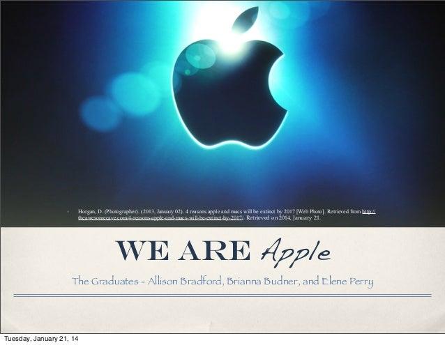✤  Horgan, D. (Photographer). (2013, January 02). 4 reasons apple and macs will be extinct by 2017 [Web Photo]. Retrieved ...