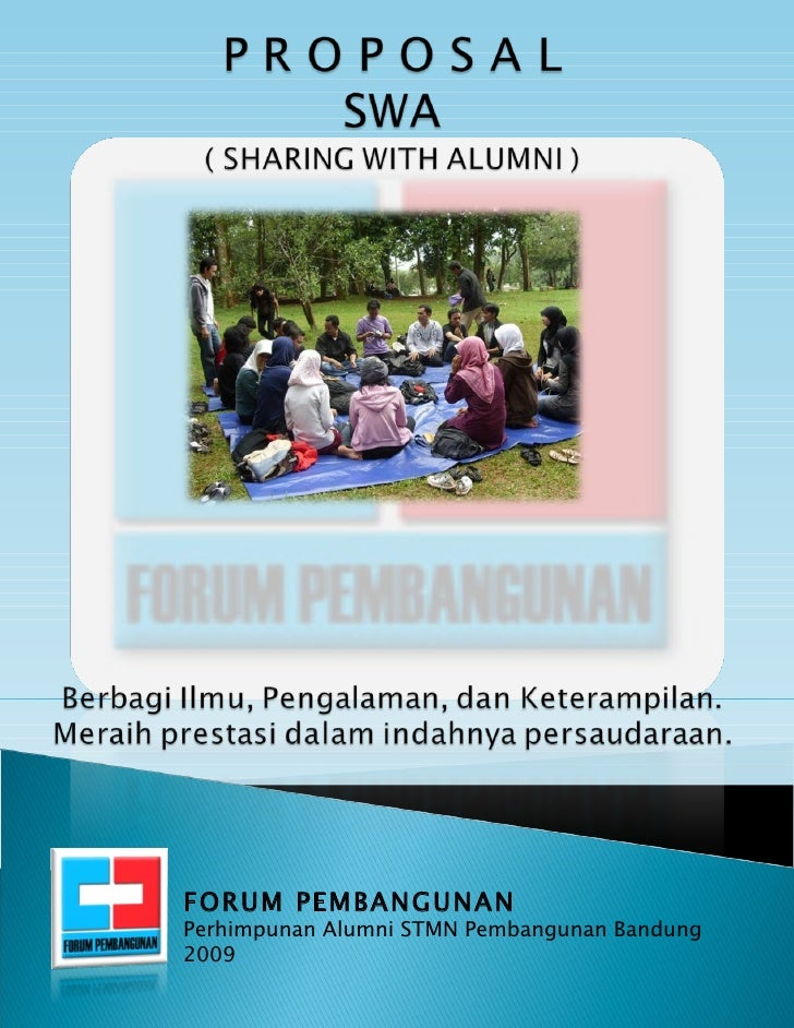 FORUM PEMBANGUNAN Perhimpunan Alumni STMN Pembangunan Bandung 2009