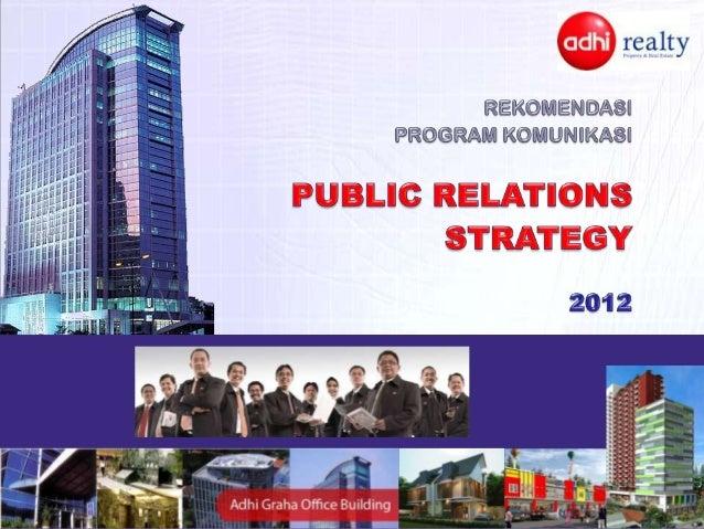 •   PT Adhi Realty adalah perusahaan pengembang yang berpengalaman pada sektor    hunian, gedung komersial dan pengelolaan...