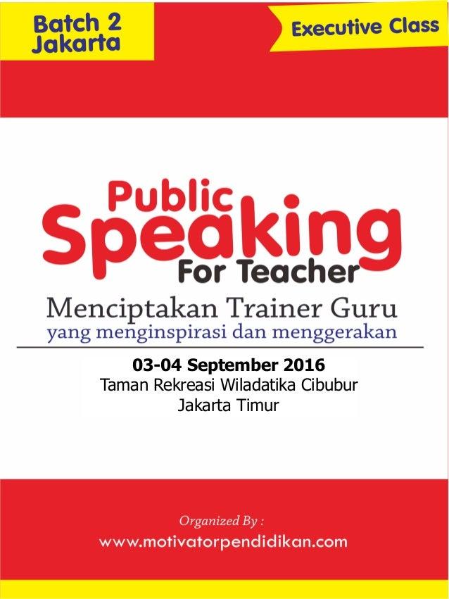 sABTU 03-04 September 2016 Taman Rekreasi Wiladatika Cibubur Jakarta Timur