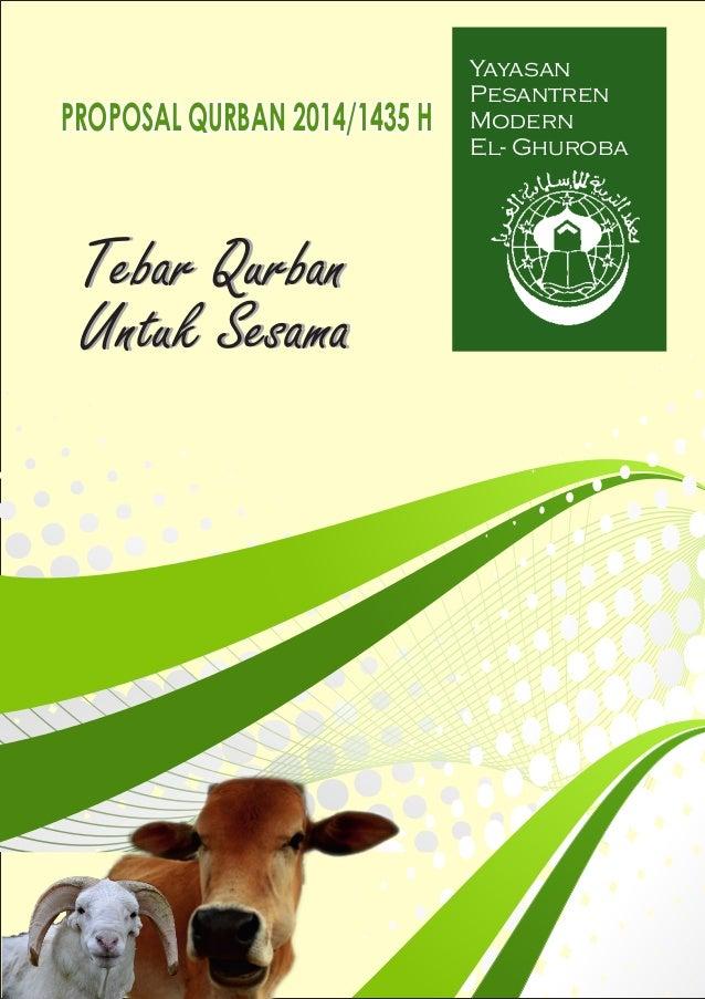 Proposal Qurban 1435h