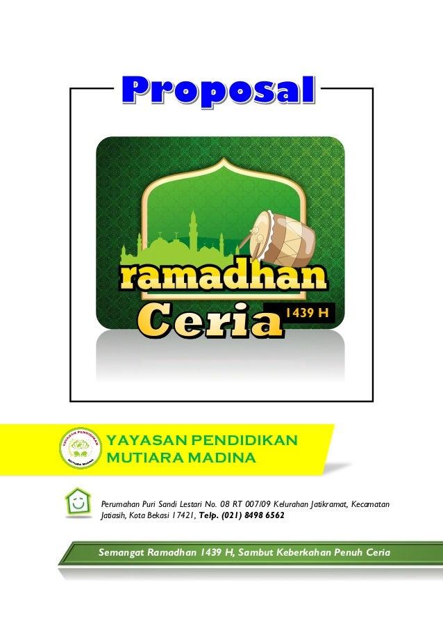 Proposal Ramadhan 2018 Ypmm