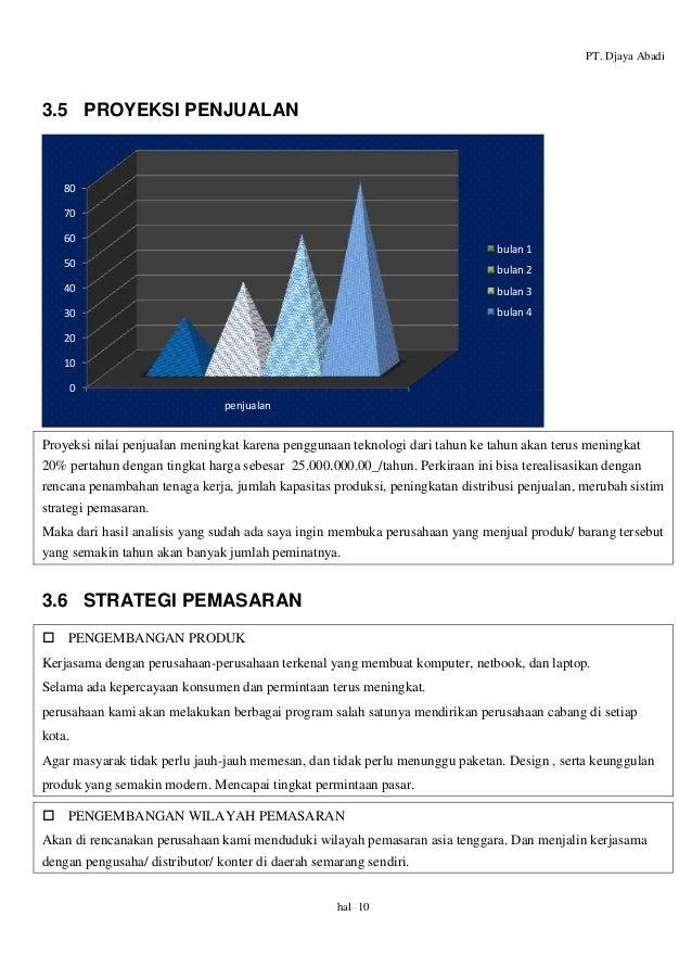 Proposal rencana bisnis pt