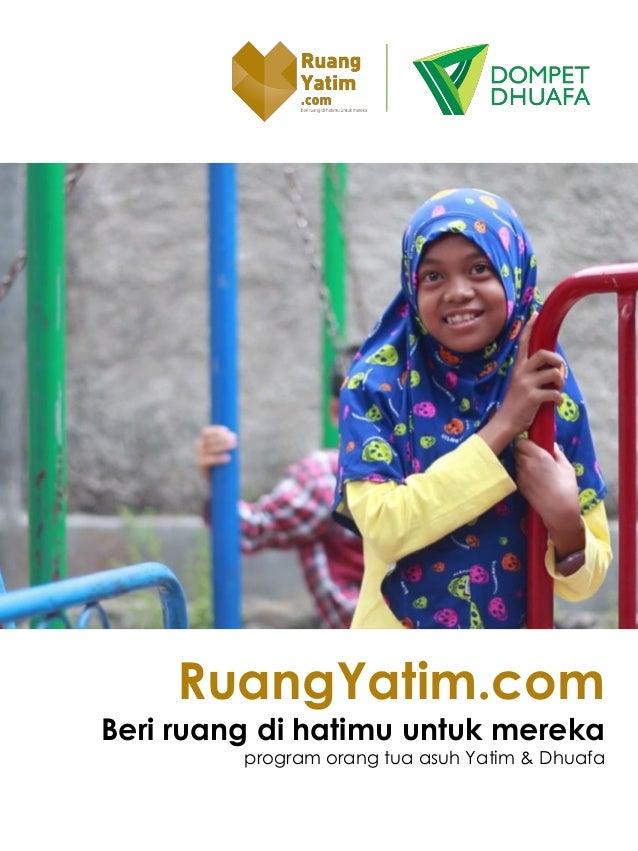 RuangYatim.com Beri ruang di hatimu untuk mereka program orang tua asuh Yatim & Dhuafa