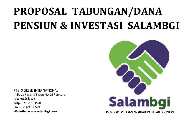 Proposal salam bgi Slide 2