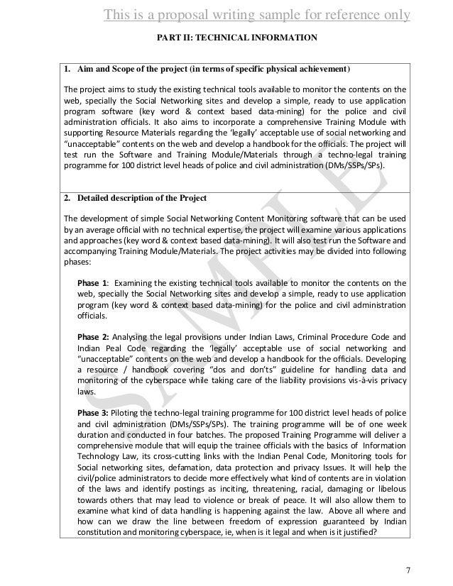 dsir research proposal format