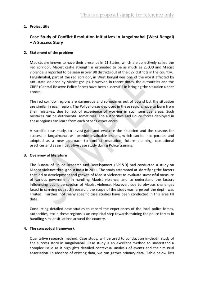 proposal writing sample 2