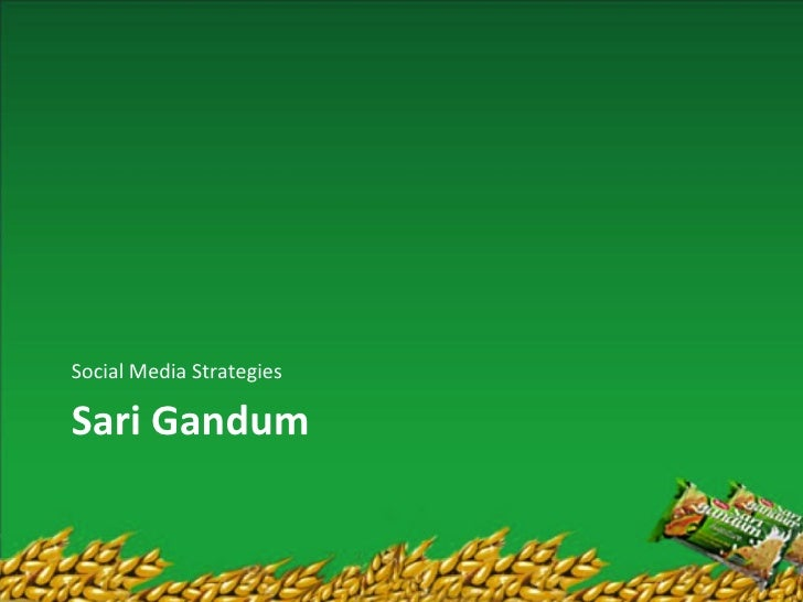 Social Media StrategiesSari Gandum