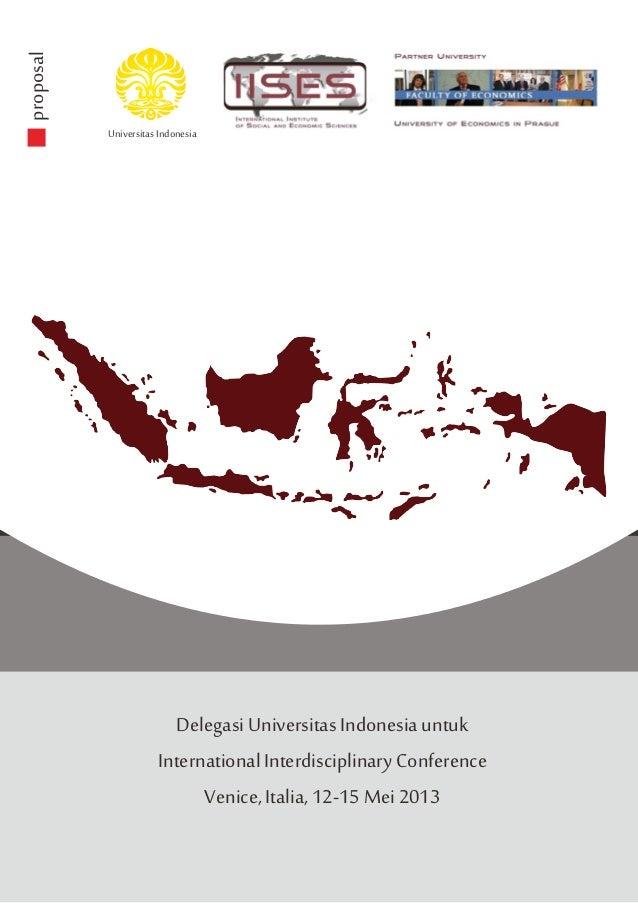 proposal           Universitas Indonesia                        Delegasi Universitas Indonesia untuk                      ...