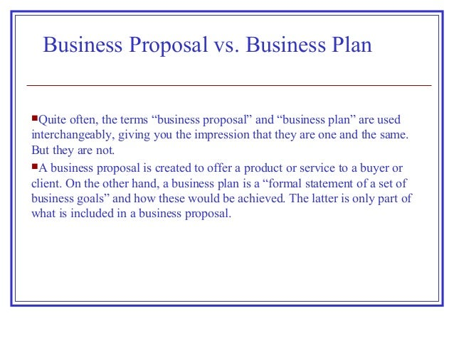 difference between business plan and prospectus of a company