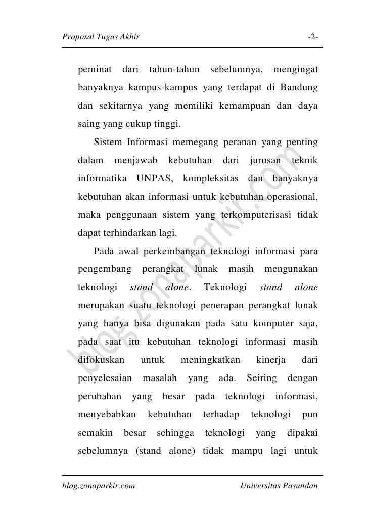 Proposal Tugas Akhir Implementasi .NET