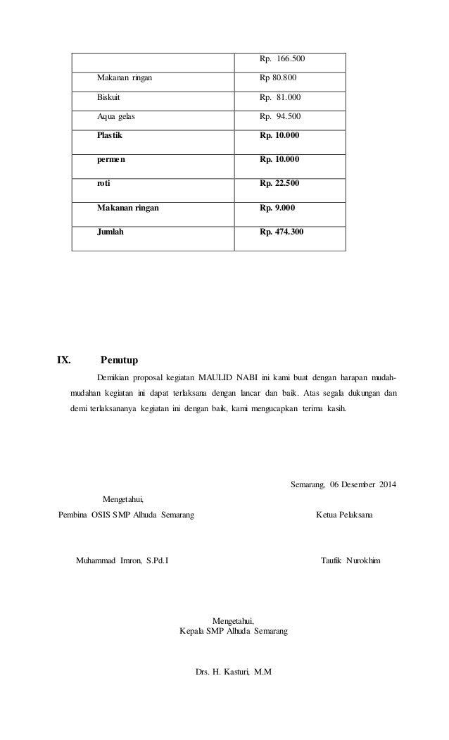 Proposal tari Slide 2