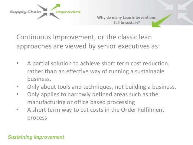Proposal Template Sustainable Improvement