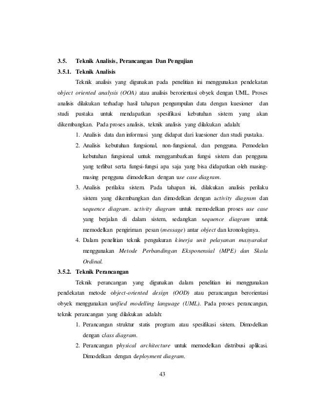 Proposal thesis from yudo devianto budi luhur university ccuart Images
