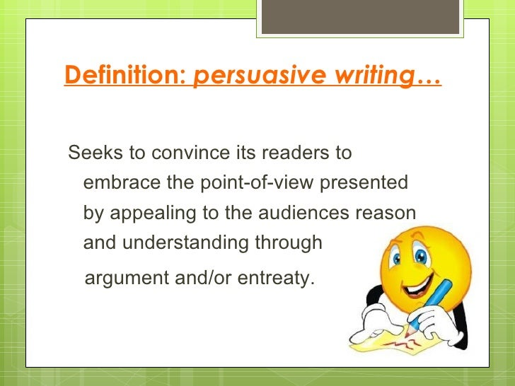 Argumentative essay education examples definition