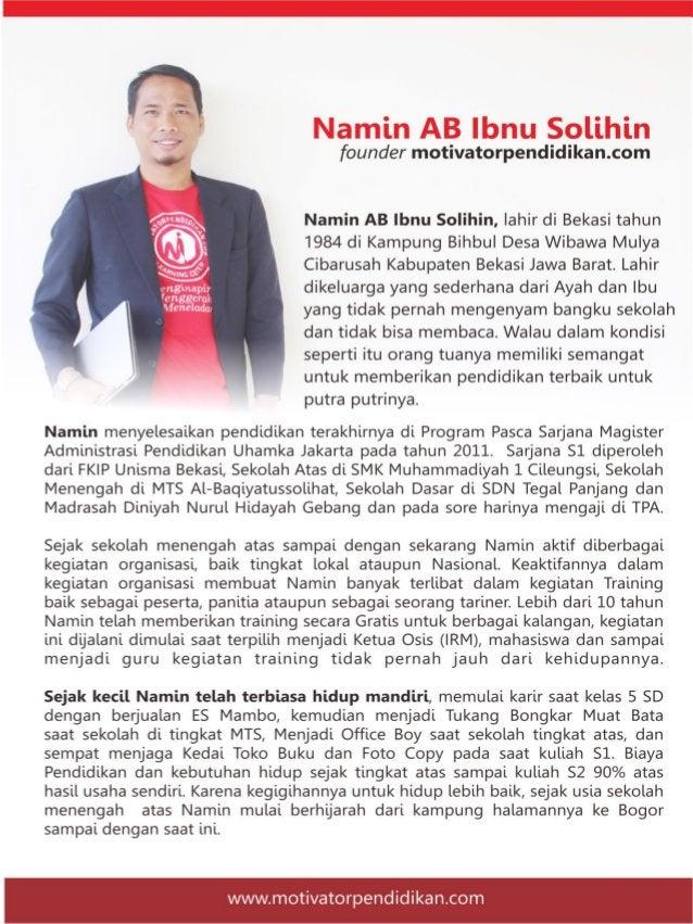 46 SIT Al Mukaromah Kota Tasikmalaya 47 SMA Negeri 1 Brebes Brebes Jateng 48 Relawan Tik Bojonegoro Bojononegoro 49 SMAN 7...