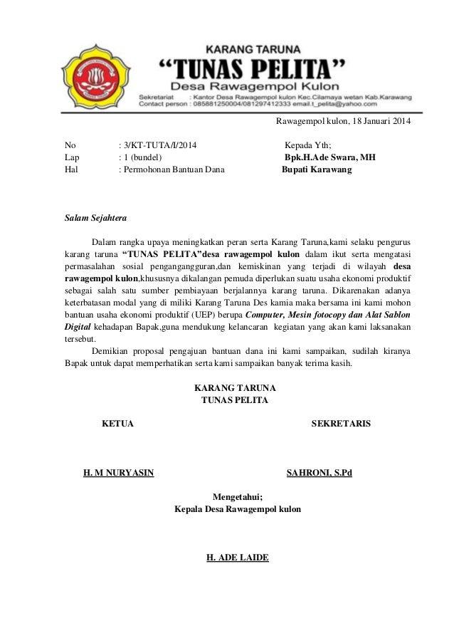 Proposal KARANG TARUNA (UEP)