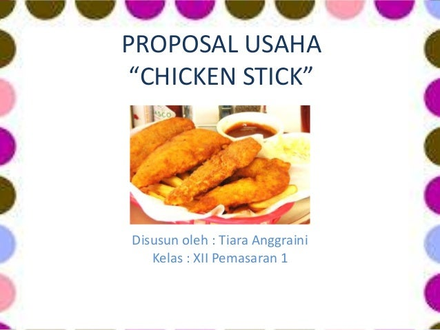 Proposal usaha makanan