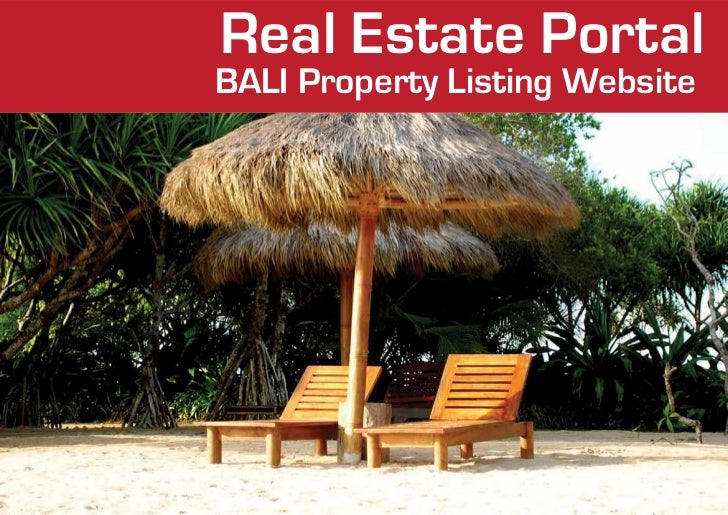 Real Estate PortalBALI Property Listing Website