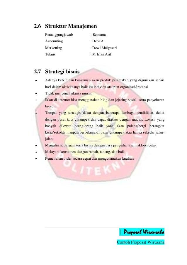 contoh pitch business enterprise schedule bengkel motor