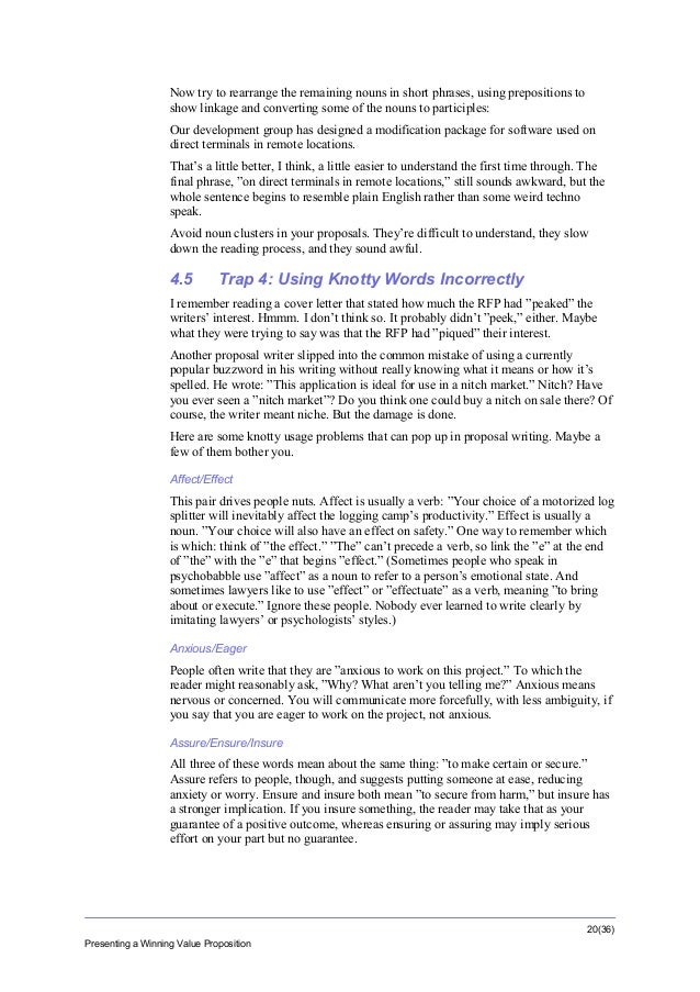 Proposal writing sales startup tutorial tips and advice (from a sale…